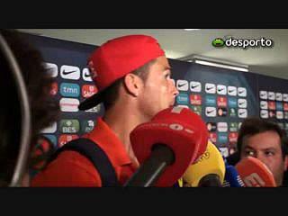 Ronaldo «Não quero apanhar a França no play-off
