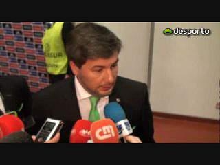 Bruno de Carvalho: «Errar para o mesmo lado não é humano»