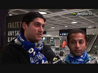 Adeptos do FC Porto tristes por não ver equipa