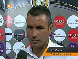 """Ivo Vieira """"é um resultado negativo"""""""