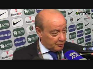 """Pinto da Costa diz que Guimarães deu """"lição"""" ao Benfica"""