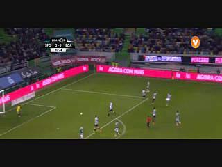 Sporting, Jogada, Schelotto, 70m