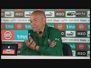 Jesualdo «Não vamos ser partners, queremos ser protagonistas»