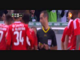 Benfica, Expulsão, Samaris, 113m