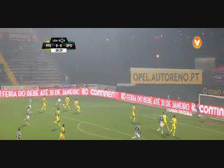 Liga (19ª J): Resumo P. Ferreira 1-3 Sporting