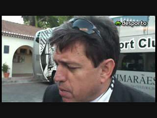 Presidente do Vitória diz que Guimarães fez história