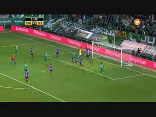 Liga (11ª J): Resumo Sporting 3-0 V. Setúbal