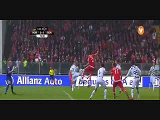 Liga (20ªJ): Resumo Moreirense 1-4 Benfica