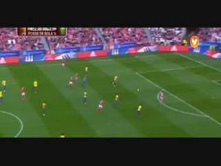 Benfica, Jogada, Gaitán, 40m