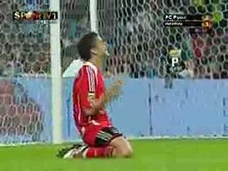 Benfica, golo N. Gomes, 82 min, 2-2