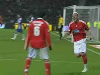 Benfica, Golo, Yebda, 45m, 0-1