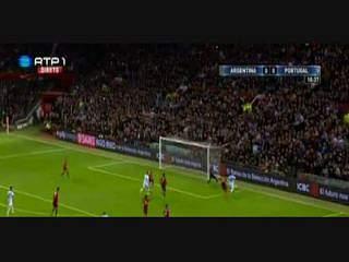 Argentina, Jogada, Messi, 11m