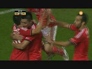 Benfica, Golo, Cardozo, 41m, 2-1