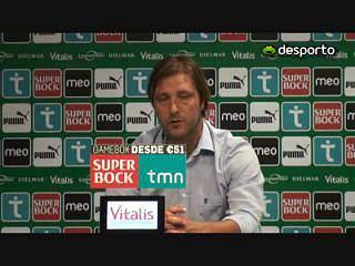 Pedro Martins: «Jogadores foram extraordinários»