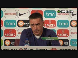 Paulo Bento: «Temos de mostrar caráter»