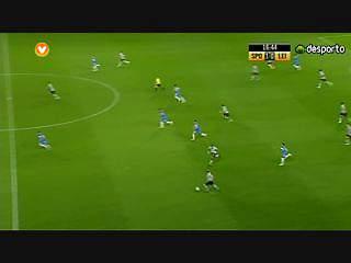 Liga (10ªJ): Resumo Sporting 3-1 U. Leiria
