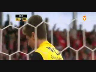 Benfica, Golo, Luisão, 46m, 0-3