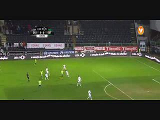 V. Setúbal, Golo, André Claro, 8m, 0-1