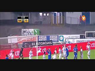 Feirense, Jogada, Pedro Santos, 11m