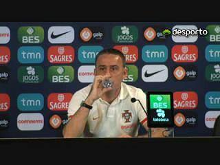Paulo Bento confirma Pepe e Antunes frente a Israel