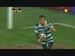 Sporting, Golo, Rojo, 25m, 1-1