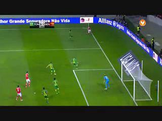 Resultado ao Intervalo – Tondela 0-3 Benfica