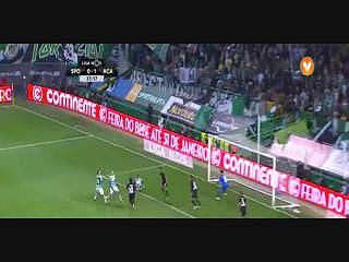 Liga (20ª J): Resumo Sporting 3-2 Académica