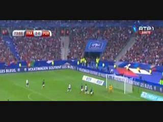 Portugal, Jogada, Ronaldo, 74m