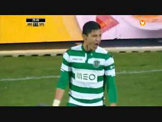 Sporting, Golo, Montero, 30m, 1-1