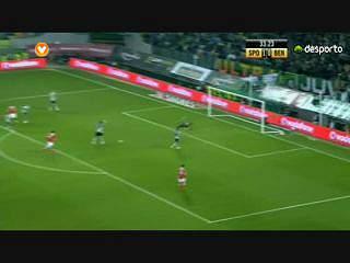 Liga (11ª J): Resumo Sporting 1-3 Benfica