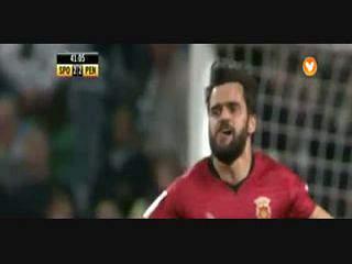 Penafiel, Golo, Vítor Bruno, 42m, 2-2