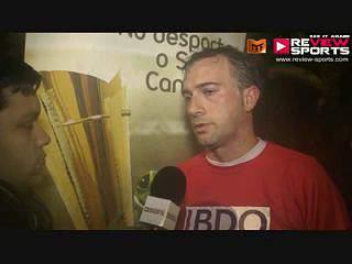 BDO VS EMPARK - FLASH INTERVIEW HUGO CRAVIDÃO