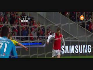 Liga (27ª J): Resumo Sp. Braga 2-0 U. Madeira