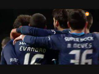 FC Porto, Golo, Evandro (g.p), 25m, 0-1