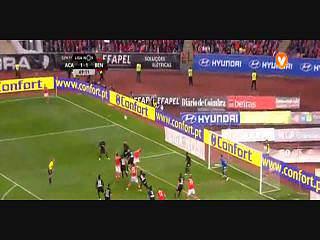 Benfica, Jogada, Jardel, 70m
