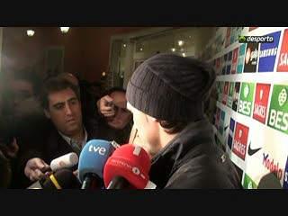Hugo Almeida apela à mobilização dos adeptos