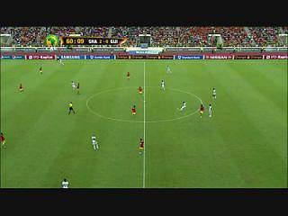 Golaço de Atsu no Gana 3-0 Guiné Conacri