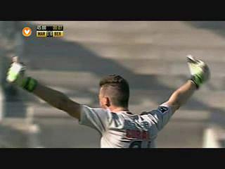 Liga (1ª J): Resumo Marítimo 2-1 Benfica