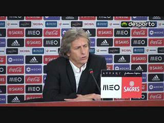Jesus: «Benfica esteve mais próximo daquilo a que habituou os adeptos»