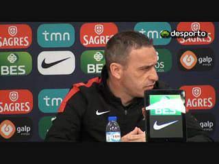 Paulo Bento: «Temos pressão e aceitamos a que nos quiserem colocar»