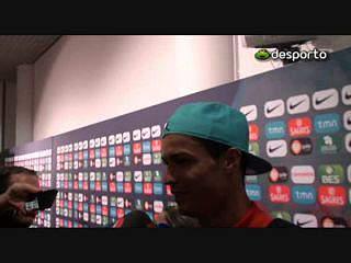 Ronaldo «A malta está concentrada para terça-feira»
