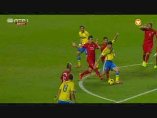 Mundial2014 (Play-off - 1ª Mão): Portugal 1-0 Suécia