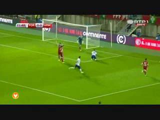 Qualificação Euro 2016:  Resumo Portugal 1-0 Arménia