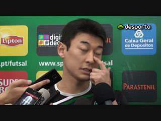 C. Japa «Todos queriam jogar contra o Sporting»