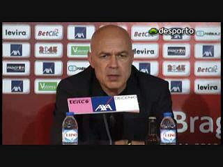 Christian Gross «Braga continua a ser favorito»