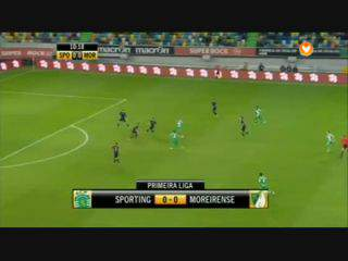 Sporting, Jogada, Montero, 11m