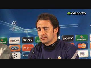 V.Pereira «Queremos muito continuar na Champions»