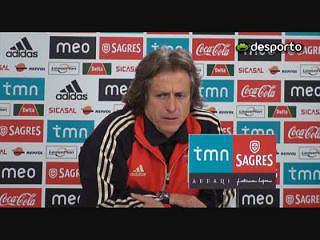 Jorge Jesus «Marítimo é a equipa surpresa desta Liga»