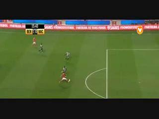 Taça da Liga (1ª Jornada - Grupo A): Resumo Benfica 1-0 Nacional