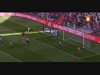 Benfica, Jogada, Gaitán, 5m
